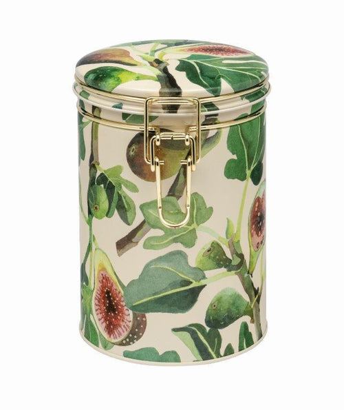 Emma Bridgewater Fig clip lid caddy - Daisy Park
