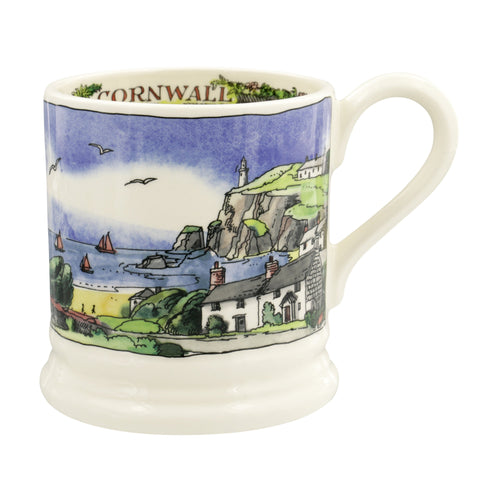 Emma Bridgewater Cornish Beaches 1/2pt mug - Daisy Park