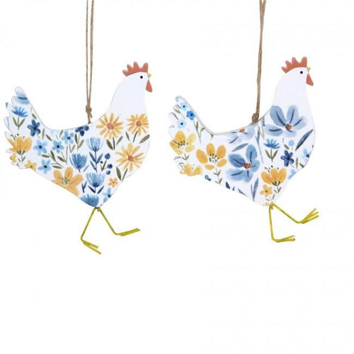 Country Folk hen decoration - Daisy Park