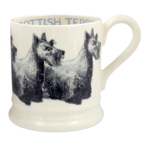 Emma Bridgewater Scottish Terrier 1/2pt mug - Daisy Park