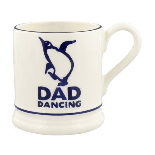 Emma Bridgewater Bright Mugs Dancing Dad 1/2 Pint Mug - Daisy Park