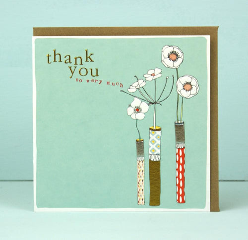 Thank you so very much card - Daisy Park