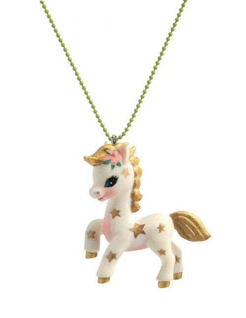 Djeco Lovely Charm Pony Necklace - Daisy Park