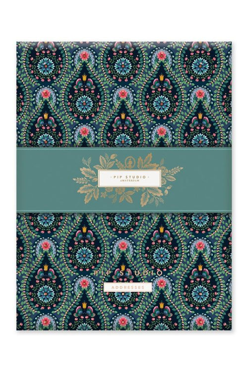 Pip Studio Moon delight A5 address book - Daisy Park