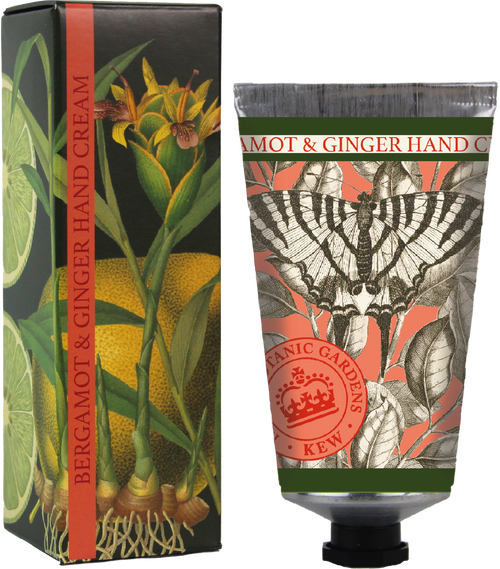 Kew Gardens 75ml Bergamot and Ginger hand cream