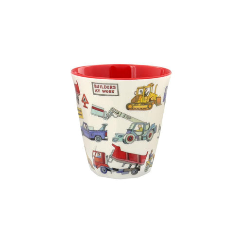Builders at work melamine beaker - Daisy Park