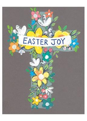 Easter Joy Cross Card - Daisy Park
