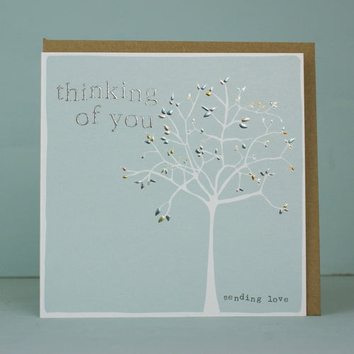 Thinking of you - Sending love card - Daisy Park