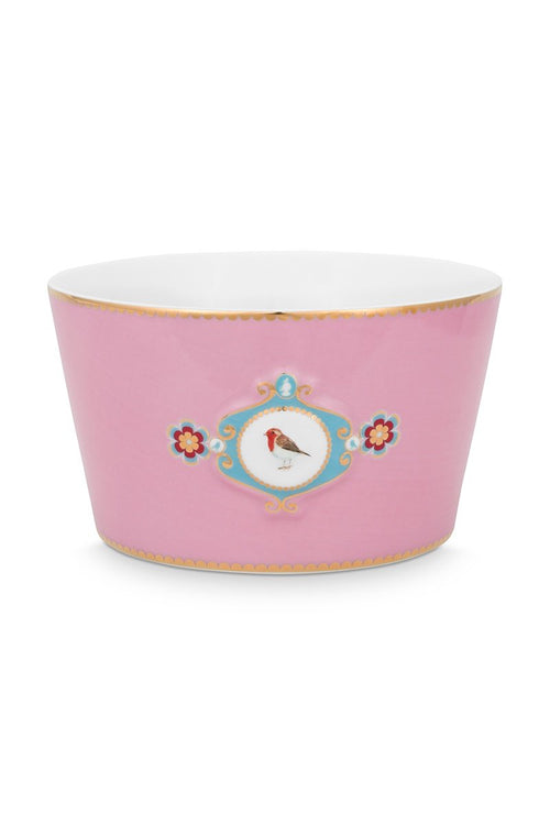 Pip Studio Love Birds Medallion pink bowl 20cm
