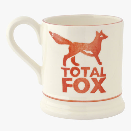 Emma Bridgewater Total Fox 1/2pt mug