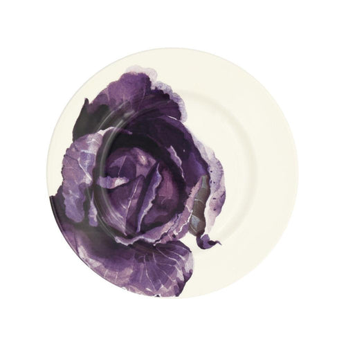 "Emma Bridgewater Red Cabbage 8.5"" plate - Daisy Park"