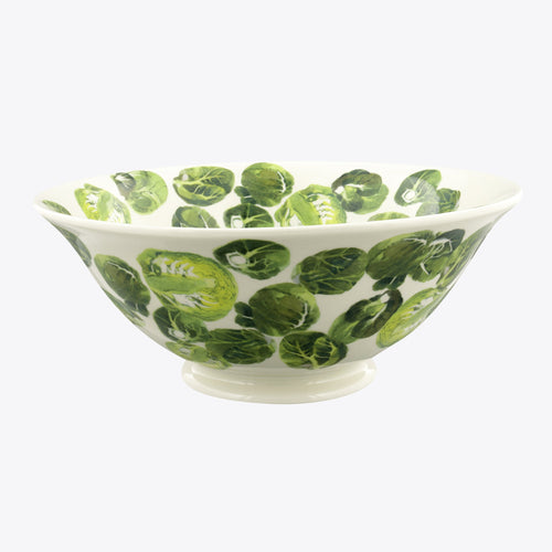 Emma Bridgewater Vegetable garden sprouts medium serving bowl - Daisy Park
