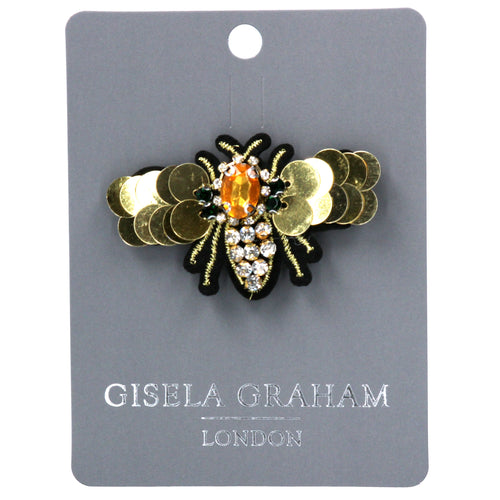 Diamante Moth Brooch - Daisy Park
