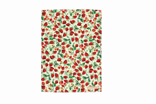 Emma Bridgewater Strawberries tea towel - Daisy Park