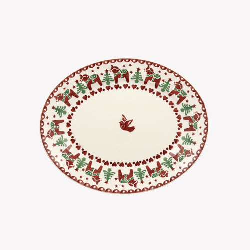 Emma Bridgewater Christmas Joy Small Oval Platter - Daisy Park