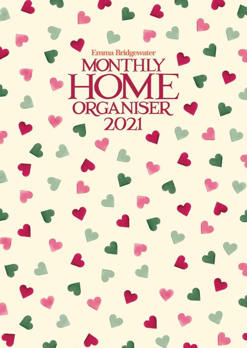 Emma Bridgewater Pink and Green hearts A3 planner - Daisy Park