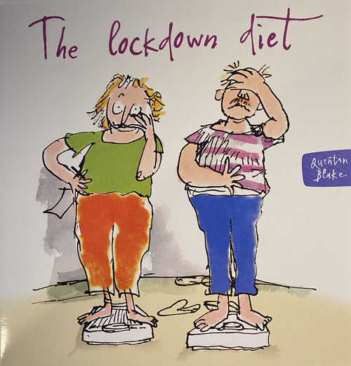 The Lockdown diet card - Daisy Park