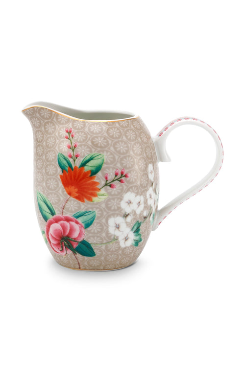 Pip Studio Blushing Birds khaki small milk jug