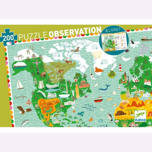 Djeco Around the World Observation Puzzle - Daisy Park