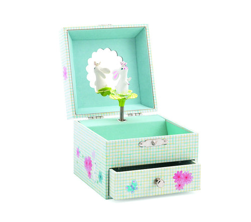 Djeco Musical Rabbit Box - Daisy Park