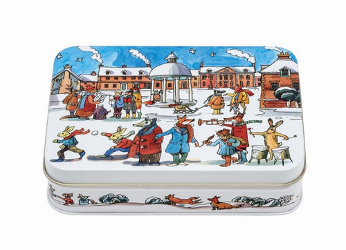 Emma Bridgewater Winter scene small tin - Daisy Park