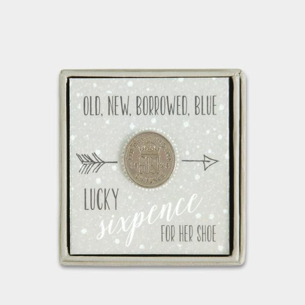 Lucky sixpence Old, New, borrowed, blue - Daisy Park