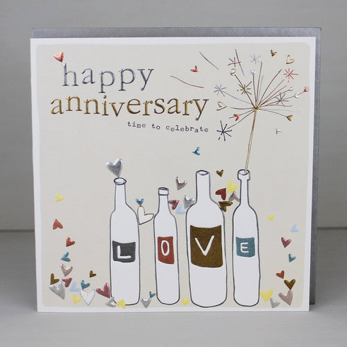Happy Anniversary time to celebrate card - Daisy Park