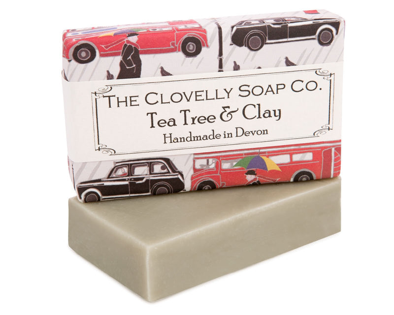 Clovelly soap - Tea Tree & Clay - Daisy Park
