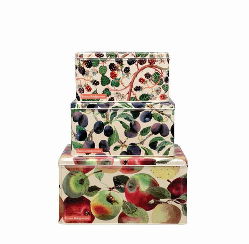 Emma Bridgewater Fruits square cake tin - S, M, L - Daisy Park