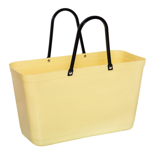 Hinza bag large green plastic - Lemon - Daisy Park