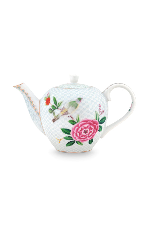 Pip Studio Blushing Birds small white teapot