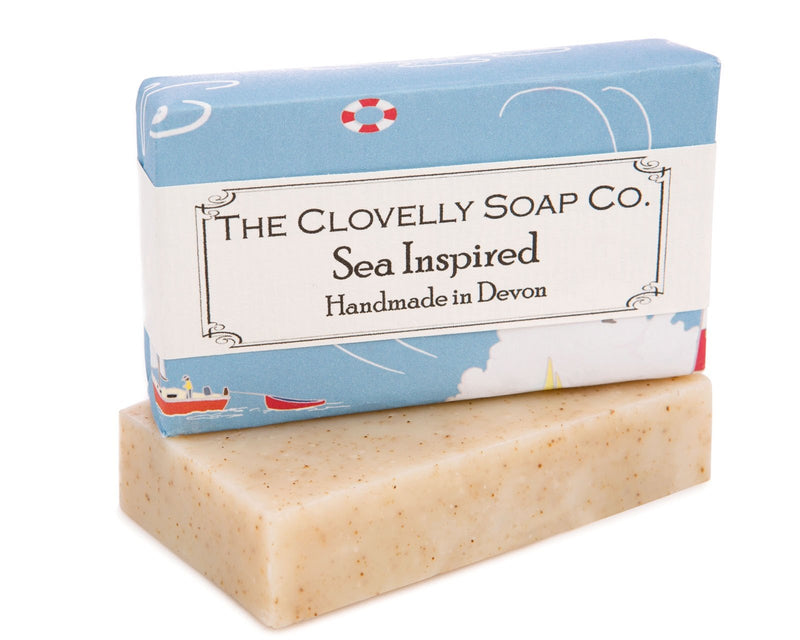 Clovelly soap Sea Inspired - Daisy Park