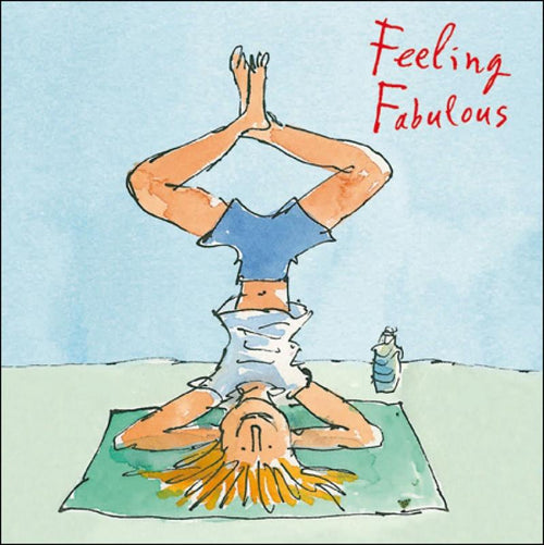 Feeling Fabulous card - Daisy Park