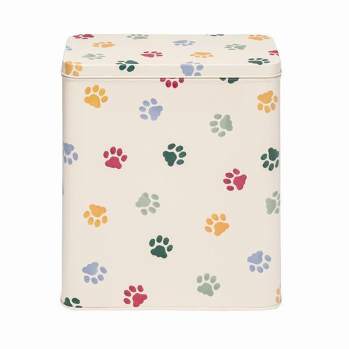 Emma Bridgewater Polka Paws pet food tin - Daisy Park