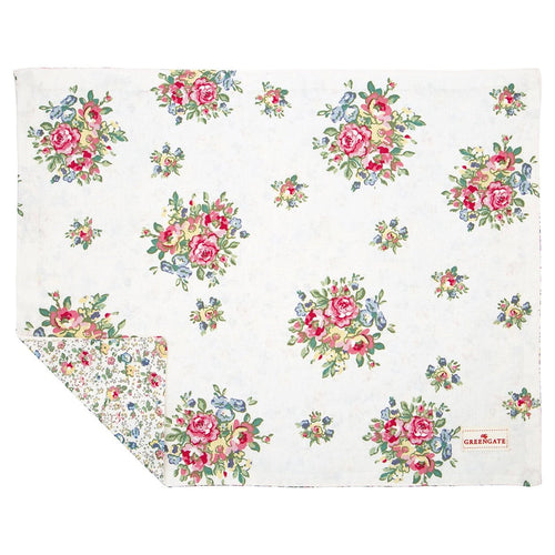 Greengate Franka white placemat - Daisy Park