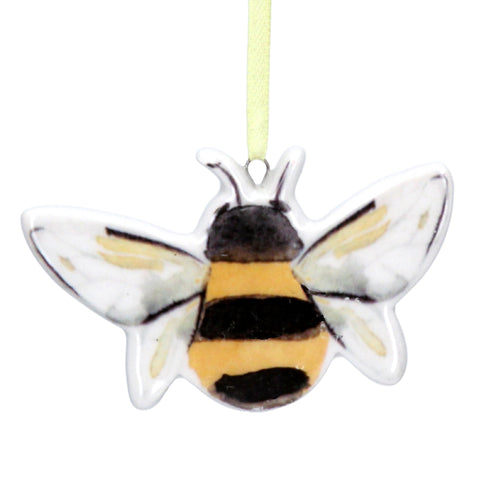 Ceramic bee decoration - Daisy Park