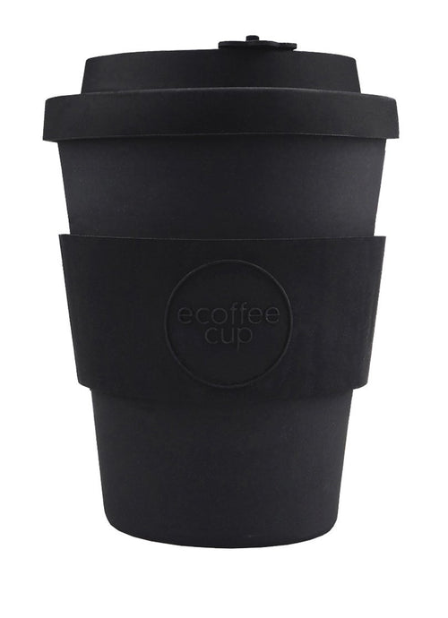 Kerr & Napier Black 12oz Ecoffee cup