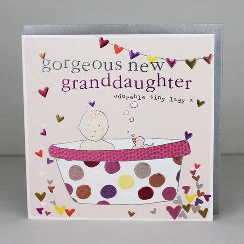 New Granddaughter card - Daisy Park