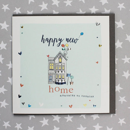 Happy New Home - Memories to cherish card - Daisy Park