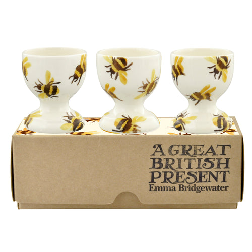 Emma Bridgewater Bumblebee Set of 3 Egg Cups - Daisy Park