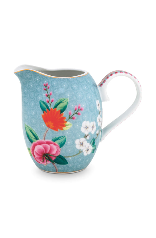 Pip Studio Blushing Birds blue small milk jug