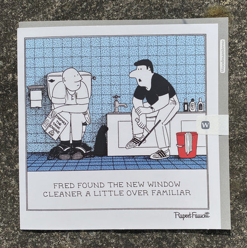 Fred - Window Cleaner card - Daisy Park