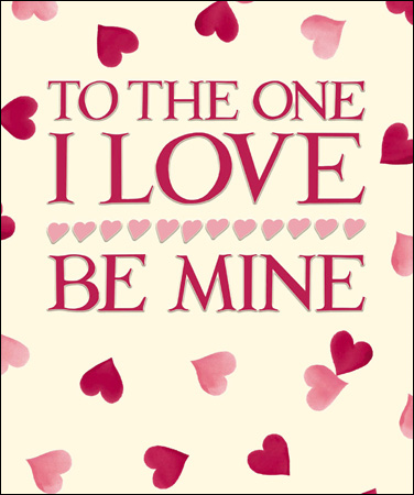 Valentine's Card - Emma Bridgewater - To the one I love - Daisy Park