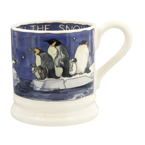 Emma Bridgewater Winter Penguins 1/2 Pint Mug 2020 - Daisy Park