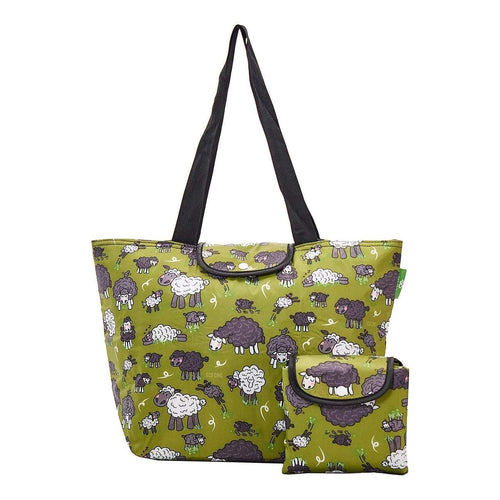 Eco Chic  Green Sheep Large Cool Bag - Daisy Park