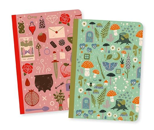 Djeco set of two Camille small notebooks - Daisy Park