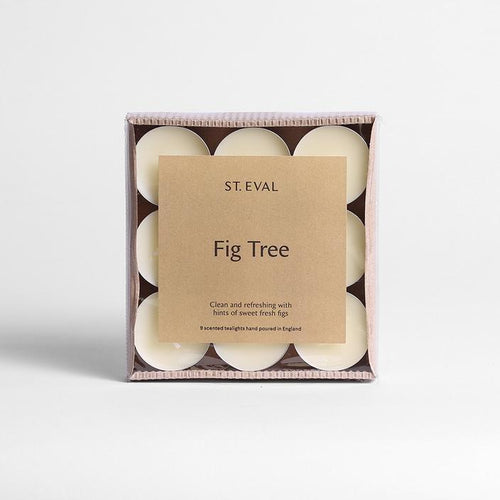 St  Eval Fig Tree Tealights