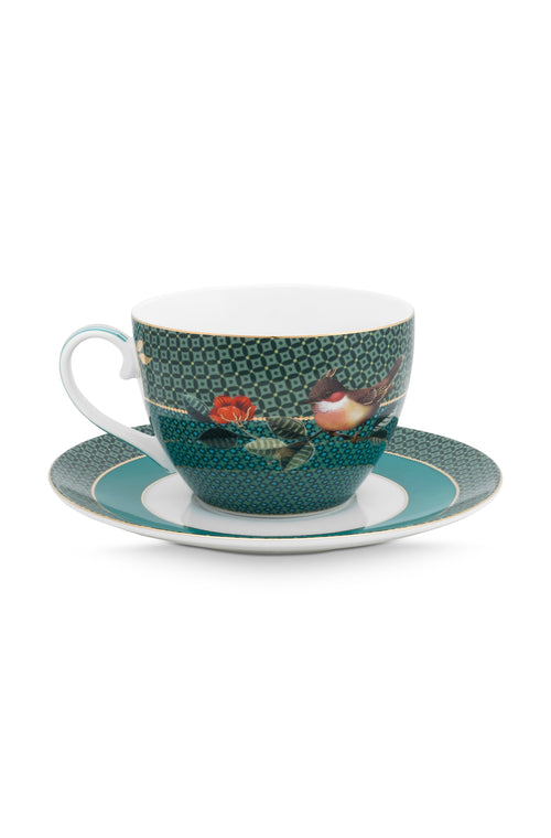 Pip Studio Winter Wonderland Cappuccino cup and saucer - Daisy Park