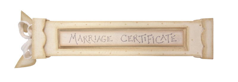 Marriage certificate holder - Daisy Park