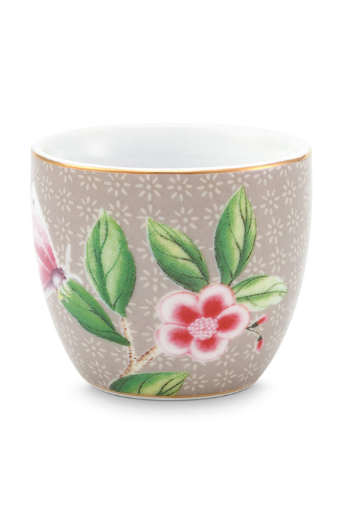 Pip Studio Blushing Birds Khaki egg cup